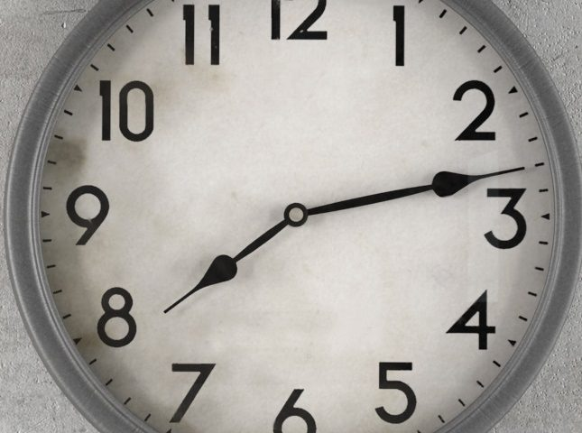 orologio eventi